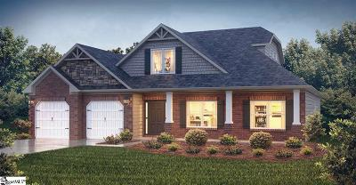 Easley Single Family Home Contingency Contract: 106 James Lake