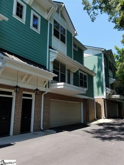 Greenville Rental For Rent: 420 Grove #Unit B
