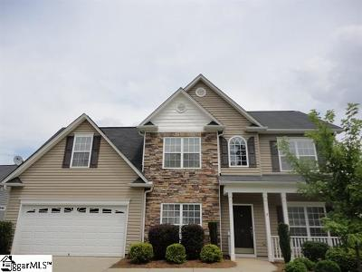 Simpsonville Rental For Rent: 17 Mercer