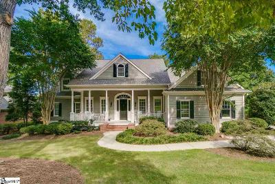 Greer SC Single Family Home For Sale: $595,000