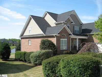 Greer SC Single Family Home For Sale: $544,900