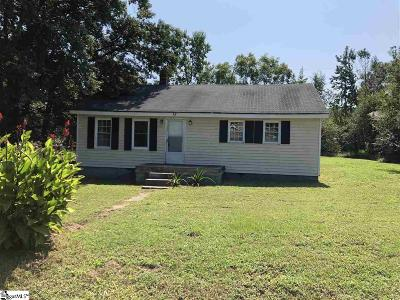 Greenville County, Spartanburg County Single Family Home For Sale: 140 Bryant