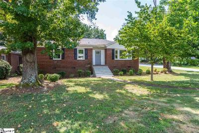 Greenville County Single Family Home For Sale: 2409 Poinsett