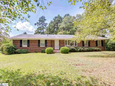 Spartanburg Single Family Home For Sale: 104 Pawnee