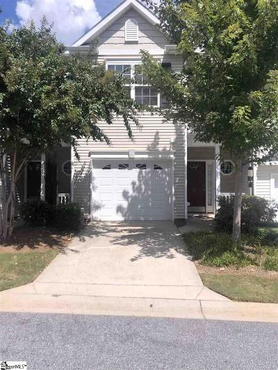 Simpsonville Condo/Townhouse For Sale: 52 Bay Springs Bay Springs