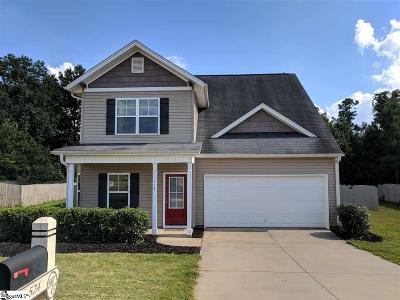 Spartanburg Single Family Home For Sale: 524 Cromwell