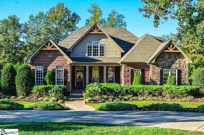 Spartanburg Single Family Home For Sale: 526 Bent Creek