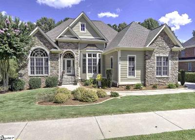 Simpsonville Single Family Home For Sale: 308 Weatherstone