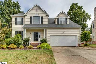Simpsonville Single Family Home For Sale: 14 Ladybird