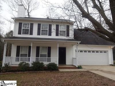 Simpsonville Rental For Rent: 23 Winding Creek