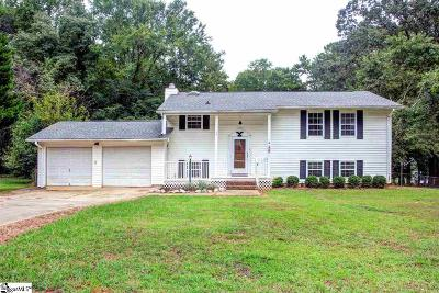 Spartanburg Single Family Home Contingency Contract: 135 Salem
