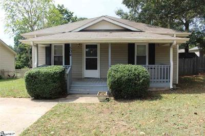 Greer Single Family Home Contingency Contract: 504 Poplar