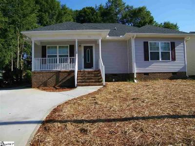 Greer Single Family Home For Sale: 114-A Tremont