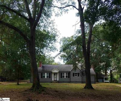 Spartanburg Single Family Home For Sale: 226 Brookside
