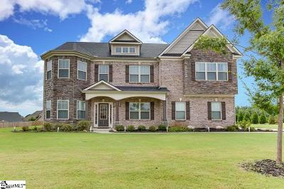 Simpsonville Single Family Home For Sale: 107 Red Bluff