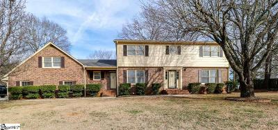 Greenville County Single Family Home For Sale: 405 Griffin