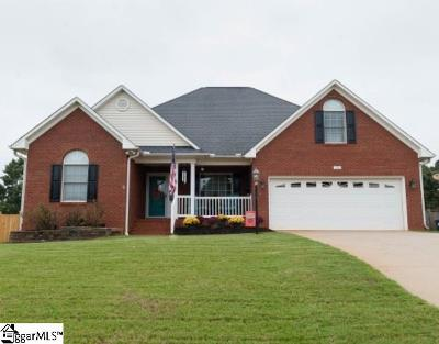 Boiling Springs Single Family Home For Sale: 346 Shadow Oak
