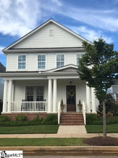 Greenville Single Family Home For Sale: 119 Verdae Crest