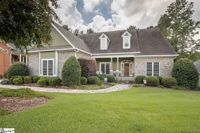 Simpsonville Single Family Home For Sale: 31 Graywood