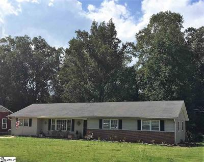 Mauldin Single Family Home Contingency Contract: 125 Montclair
