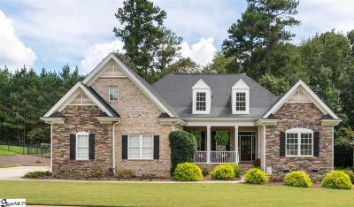 Simpsonville Single Family Home For Sale: 209 Bentwater