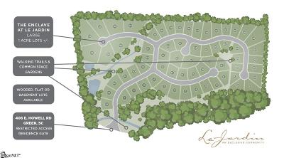 Greer Residential Lots & Land Contingency Contract: 519 Adaliz
