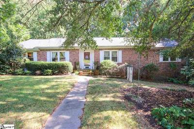 Mauldin Single Family Home For Sale: 118 Kingsley