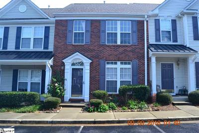 Greer Condo/Townhouse Contingency Contract: 14 Spring Crossing