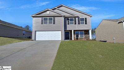 Pelzer Single Family Home For Sale: 119 Rogers Knoll