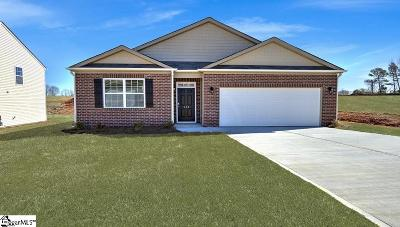 Pelzer Single Family Home For Sale: 114 Rogers Knoll