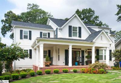 Greenville SC Single Family Home Contingency Contract: $1,150,000