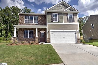 Simpsonville Single Family Home Contingency Contract: 1010 Louvale