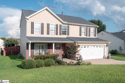 Greer Single Family Home For Sale: 109 Chartwel