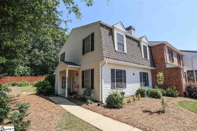Greenville County Condo/Townhouse For Sale: 97 Jamestowne #Unit 84