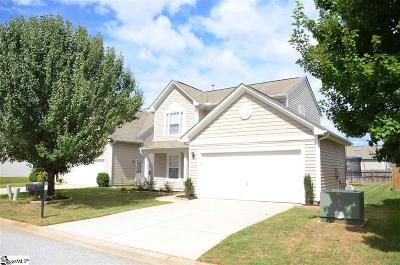 Greenville SC Single Family Home For Sale: $177,000
