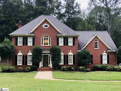 Greenville Single Family Home For Sale: 105 Quail Creek