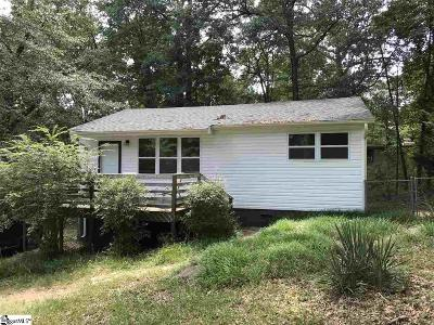 Easley Single Family Home Contingency Contract: 302 Anzio