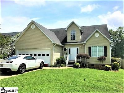 Easley Single Family Home Contingency Contract: 116 Kelly