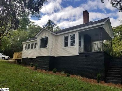 Greenville SC Single Family Home For Sale: $215,000