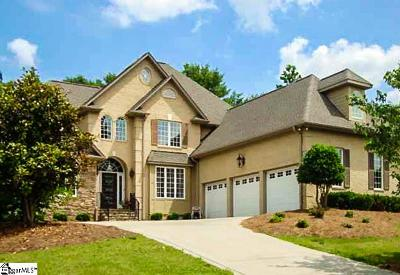 Spartanburg Single Family Home Contingency Contract: 705 Black Wolf
