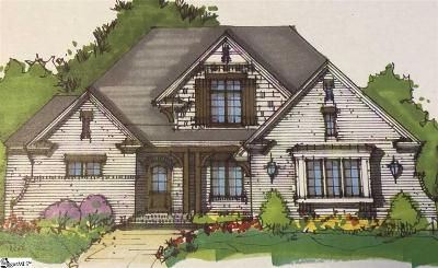 Simpsonville Single Family Home Contingency Contract: 7 E Godfrey Grove