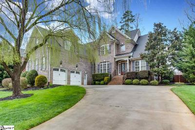 Greenville Single Family Home For Sale: 512 Foxcroft