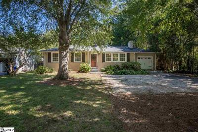 Greenville SC Single Family Home For Sale: $260,000