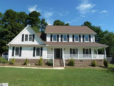 Greenville Single Family Home For Sale: 103 Forrester Creek