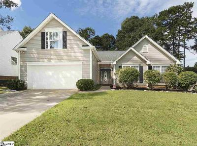 Simpsonville Single Family Home For Sale: 306 Waterton