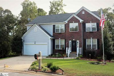 Simpsonville Single Family Home For Sale: 6 Jericho