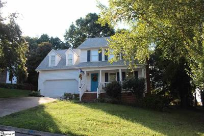 Greenville SC Single Family Home For Sale: $226,500