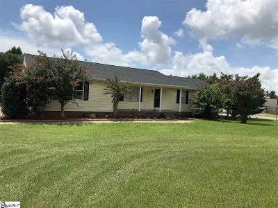 Duncan SC Single Family Home For Sale: $154,900