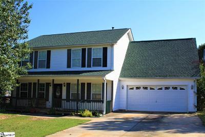 Fountain Inn Single Family Home For Sale: 901 Veryfine
