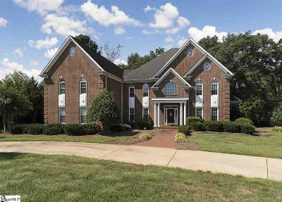 Greenville SC Single Family Home For Sale: $800,000
